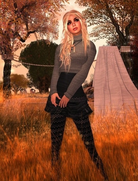 The SL Fashionista: indian summer ( and Dirty Turkey Hunt again) | Second LIfe Good Stuff | Scoop.it