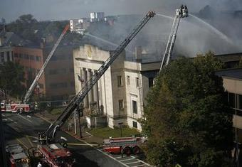 Fire out at Quincy Masonic temple - The Patriot Ledger | Freemasonry watch & news | Scoop.it
