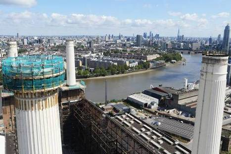 Iconic chimney at Battersea Power station begins to come down in first stage of demolition | Architecture and Architectural Jobs | Scoop.it
