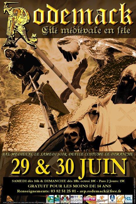 Les Amis des Vieilles Pierres pour la sauvegarde de Rodemack | Festivals Celtiques et fêtes médiévales | Scoop.it