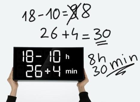 Con este reloj, si quieres saber la hora tendrás antes que resolver la ecuación | Recull diari | Scoop.it