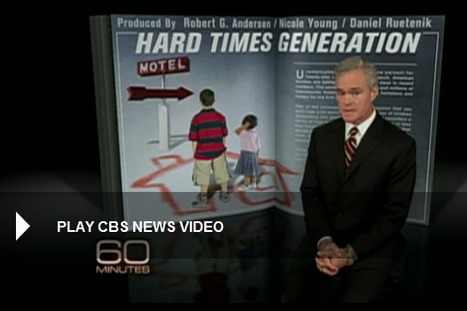 Hard times generation: homeless kids - 60 Minutes - CBS News | Child Poverty in America | Scoop.it