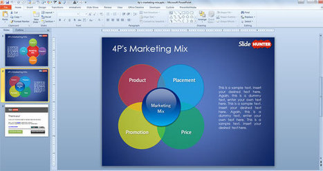 Free 4P Marketing Mix PowerPoint Template | Free PowerPoint Templates 1 | Scoop.it