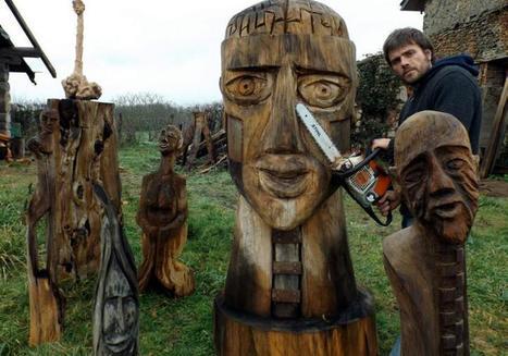Decazeville. L'art au bout de la tronçonneuse   L'info tourisme en Aveyron   Scoop.it