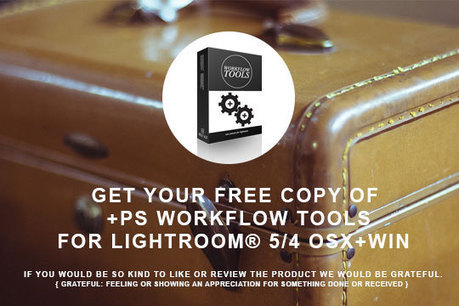 WORKFLOW TOOLS FREE LIGHTROOM PRESETS | Photography News & Resources | Scoop.it