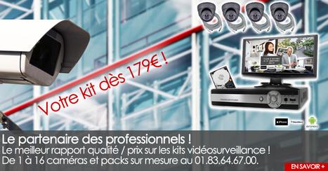 Kit videosurveillance et caméra surveillance à prix discounts - Camshop.fr | Caméra | Scoop.it