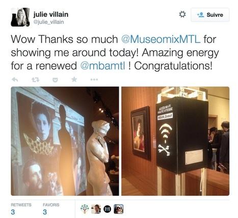 Museomix 2014 : les invasions numériques | Triplex, le blogue techno de Radio-Canada | Radio-Canada.ca | Museomix - Web & talk review | Scoop.it