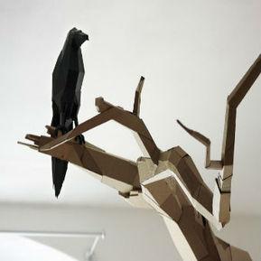 Bartek Elsner's Awesome Cardboard Sculptures | Tech Nontech Magazine | Scoop.it