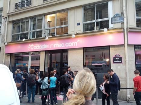 La boutique AdopteUnMec.com ouvre ses portes à Paris | zouzou | Scoop.it