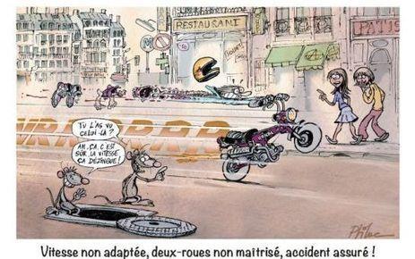 Paris : quand des dessinateurs se mobilisent pour la sécurité routière | Prévention routière 2013 | Scoop.it