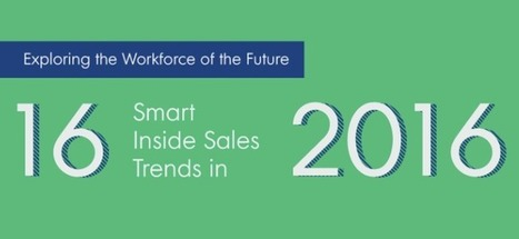16 Smart Inside Sales Trends In 2016 [Infographic] | LinkedIn for business and Social Selling | Scoop.it