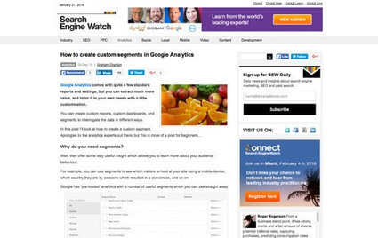 21 Free Tutorials for Google Analytics | Authors in Motion | Scoop.it