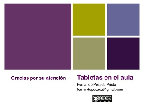 "Tabletas en el aula | canalTIC.com | Openness in Education and New ""Trends"" in Educational Technology 