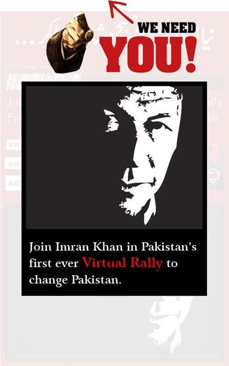 Imran Khan Launches Social Media Campaign in Pakistan : Wake Up   Pakistan   Scoop.it