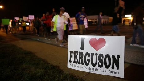 Tensions Subside After Peaceful Ferguson Protests - ABC News | CLOVER ENTERPRISES ''THE ENTERTAINMENT OF CHOICE'' | Scoop.it