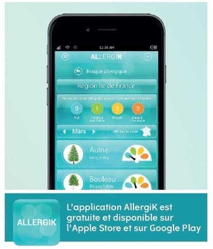 AllergiK : application pour allergiques | VIGIE Pharma : Visite médicale et marketing pharmaceutique | Scoop.it