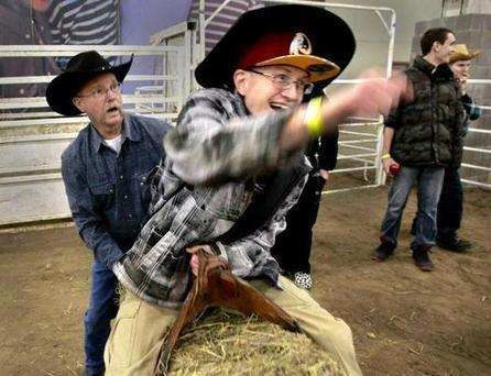 People with special needs saddle up for an exceptional rodeo - Kansas City Star | Autism | Scoop.it