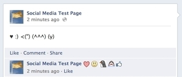 Emoticons Appearing In Facebook Comments - AllFacebook | Digital Media Strategies | Scoop.it