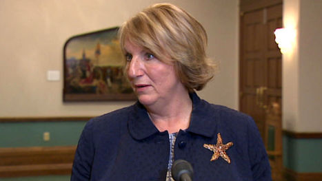Kathy Dunderdale shuts down Twitter account over porn fuss - Nfld. & Labrador - CBC News   Emma's CanPR Project   Scoop.it