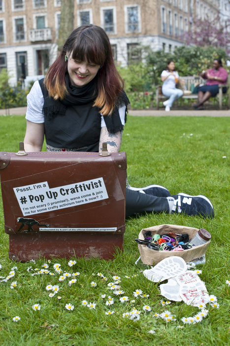 Sarah Corbett, Founder of Craftivist Collective | Ogunte | Women Social Innovators | Scoop.it
