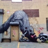Streetart: New Murals by ROA in New York / USA and Lagos / Portugal | Creative Portugal | Scoop.it