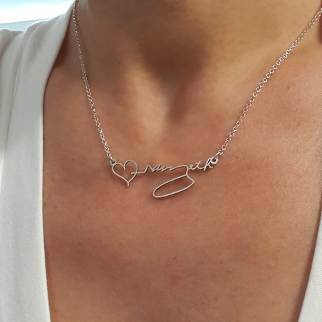 Special Gifts For Ladylove On The Occasion Of Wedding | Monogrammed Necklaces | Scoop.it