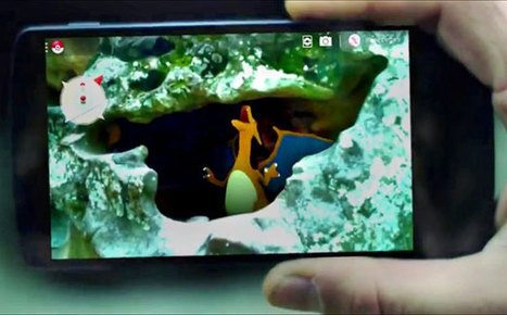 Google 'debuts' Pokemon augmented reality app for April Fools ... | Augmented Reality | Scoop.it
