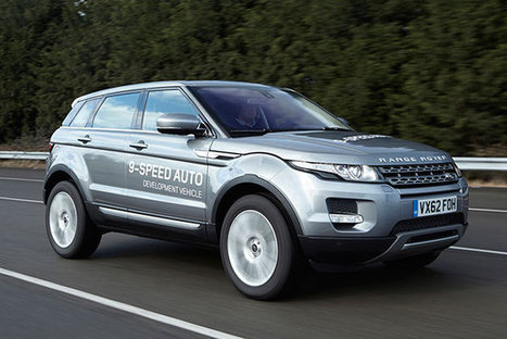 Land Rover bringing world's first nine-speed automatic transmission to Geneva - Autoblog (blog) | Land Rover Bussiness | Scoop.it