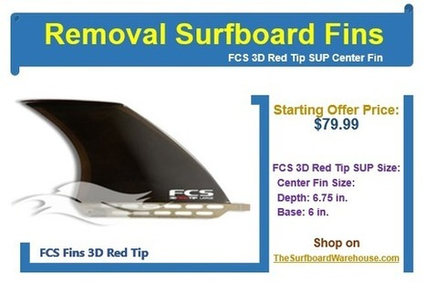 Surfboard Fins up for sale at insane deals on TheSurfboardWarehouse.com | Digital Brands | Scoop.it