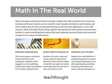 Math in the real world: 400 examples, lessons and resources | Purposeful Pedagogy | Scoop.it