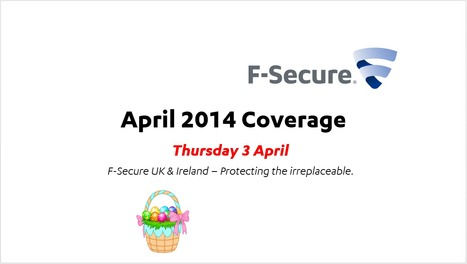 April Coverage (3rd) | F-Secure Coverage (UK) | Scoop.it