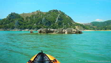 Castel di Tora (RI) - In Kayak e canoa sul Lago del Turano || Leggi tutti i dettagli su Tesori del Lazio | I tesori del Lazio - Treasures of Latium - Magazine | Scoop.it