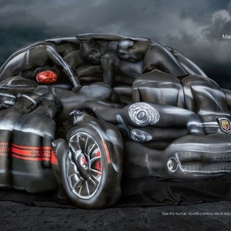 Fiat Body-Paints a Dozen Naked Women to Sell Cars | Psychology of Consumer Behaviour | Scoop.it