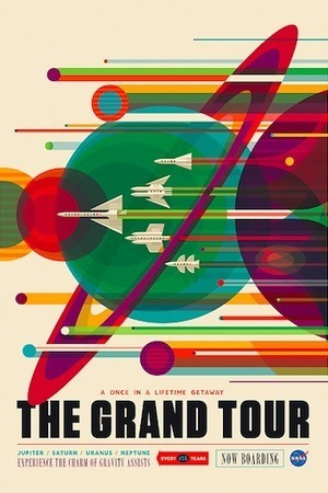 NASA promotes space tourism in retro new posters | El Mundo del Diseño Gráfico | Scoop.it