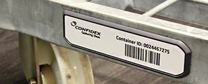 Confidex Carrier Tough II, thin yet rugged RFID tag designed for extreme performance in returnable container tracking | RFID and NFC tags | Scoop.it