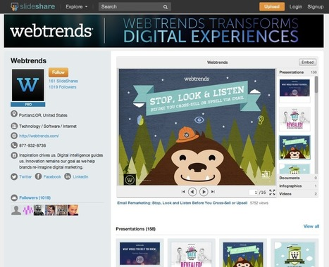Giving You More Reasons to Share on SlideShare | Veille e-learning | Scoop.it
