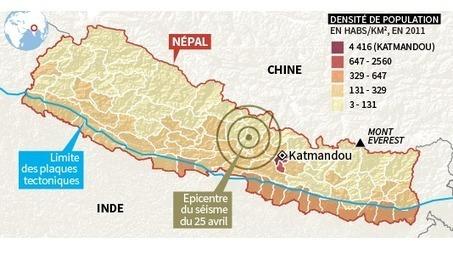 En cartes : le séisme au Népal et ses cinquante répliques - Le Monde | Le monde sous toutes ses cartes | Scoop.it