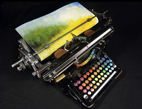 Tyree Callahan's Chromatic Typewriter | D_sign | Scoop.it
