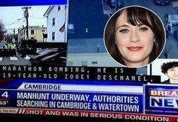 Fox affiliate identifies Boston jihad bomber as Zooey Deschanel - Jihad Watch | News You Can Use - NO PINKSLIME | Scoop.it