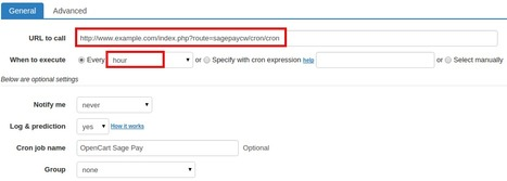 How to set up cron job for OpenCart Sage Pay   OpenCart Development Design and Modules   Scoop.it