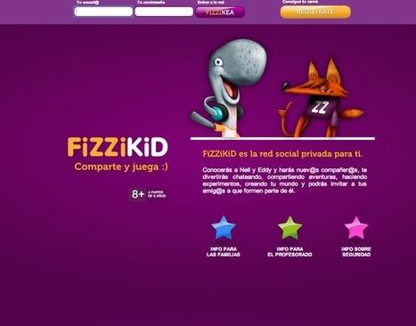 Fizzikid: red social para niños de 8 a 14 años   Las TICs en la Educación   Scoop.it