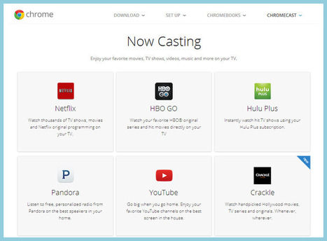 Cast TED, Vimeo and Other Sites to Chromecast | Education Matters - (tech and non-tech) | Scoop.it