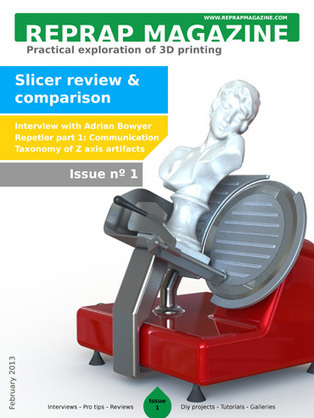 Reprap development and further adventures in DIY 3D printing: The RepRap magazine | Digital Design and Manufacturing | Scoop.it