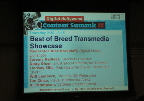 Digital Hollywood NYC 2011 -- Part 1 | Transmedia: Storytelling for the Digital Age | Scoop.it