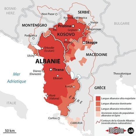 La Grande Albanie, l'essence d'une nation (Géographies en mouvement) | Géographie des Balkans | Scoop.it