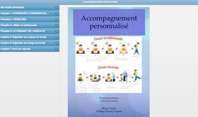 La classe inversée en accompagnement personnalisé en 6ème - Ludovia Magazine | Classe inversée | Scoop.it