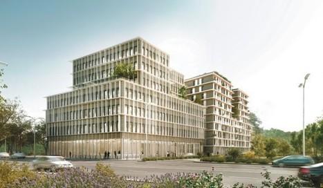 Bordeaux - Tertiaire : Euratlantique lance la construction bois à grande échelle   L'usager dans la construction durable   Scoop.it
