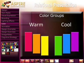 Color Combinations in Slide Design | Into the Driver's Seat | Scoop.it