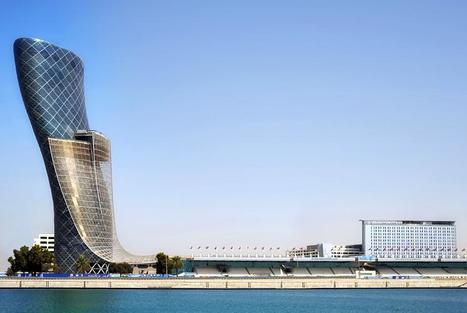 La tour la plus penchée du monde : Capital Gate à Abou Dhabi | Veille technologique STI2D | Scoop.it