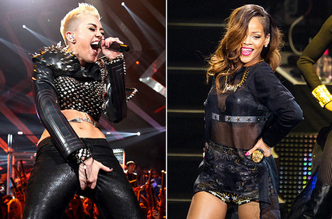 Miley Cyrus' 'We Can't Stop' Originally Intended For Rihanna | Miley Cyrus | Scoop.it